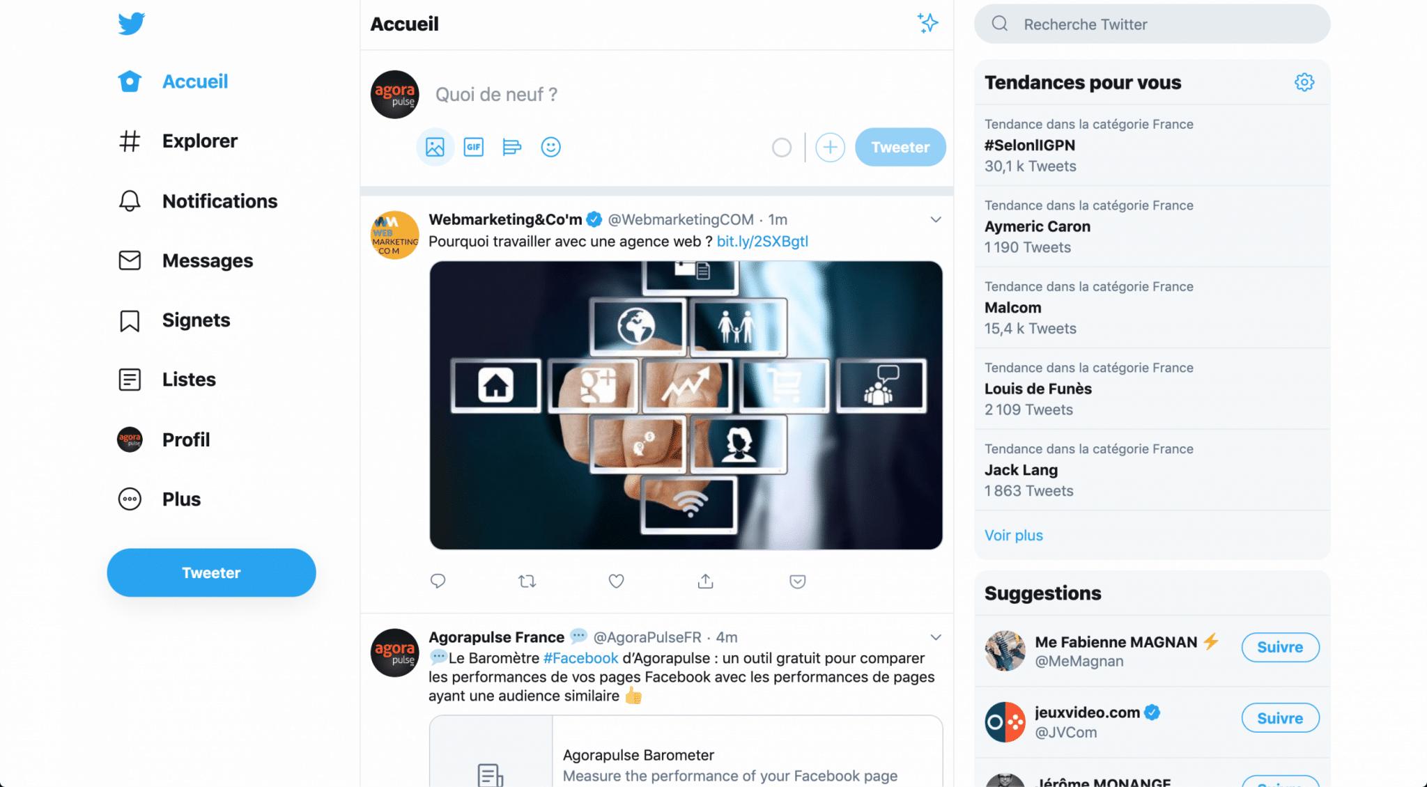 nouveau twitter desktop