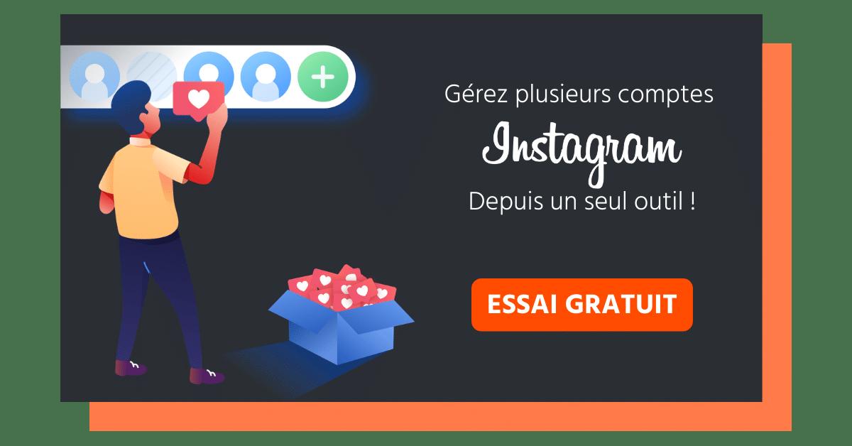 outil de gestion d'instagram