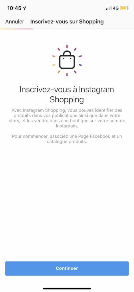 Comment vendre via Instagram Shopping ?