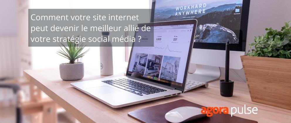 site internet allié stratégie social media