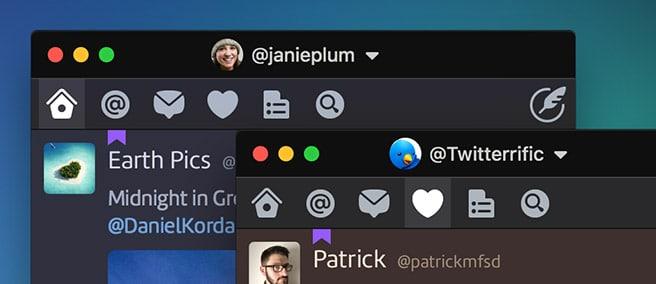 alternatives Twitterdeck : Twitterrific
