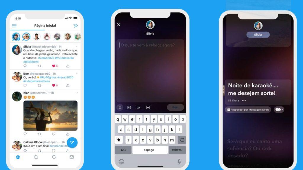 what's up social mars : exemple de stories twitter fleets