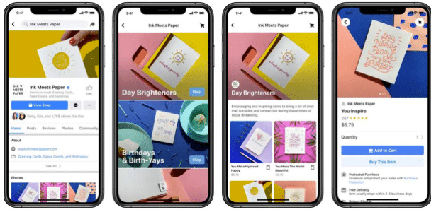 What's Up Social mai 2020 : Facebook Shops
