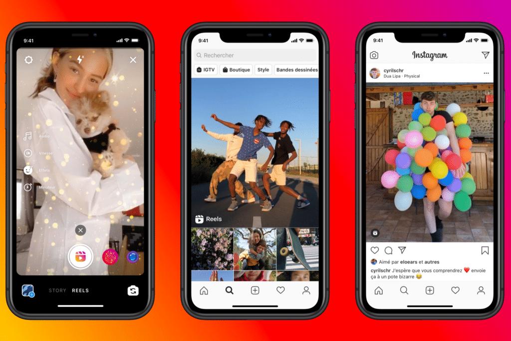what's up social juin : Instagram concurrence TikTok avec les vidéos reels