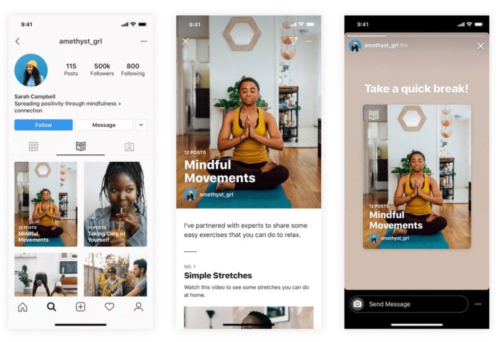 instagram guides ouvert aux créateurs