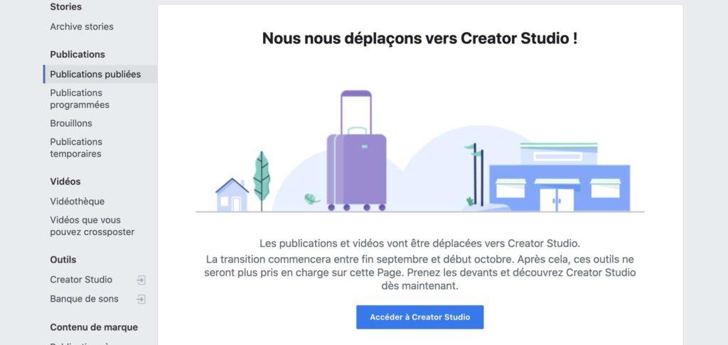 redirection creator studio