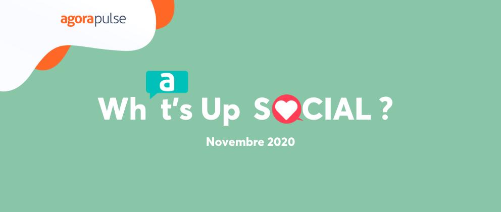What's up social novembre 2020