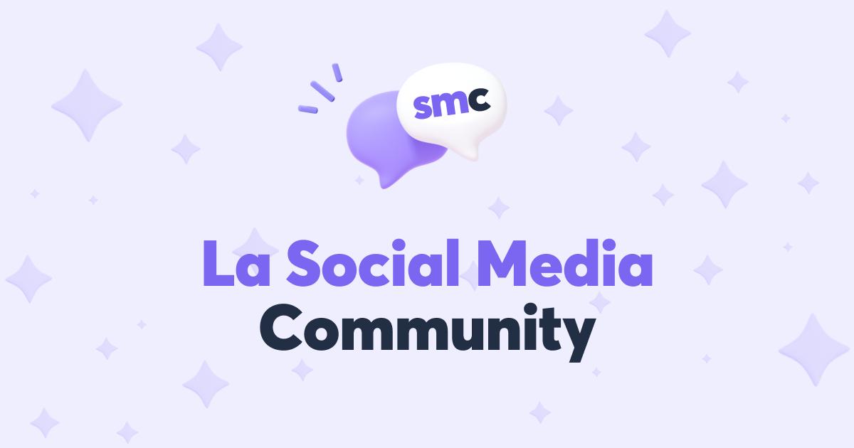 La Social Media Community, communauté Discord des community managers et social media managers, dédié au community management et aux réseaux sociaux