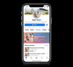 Intégration Spotify et Podcasts Facebook
