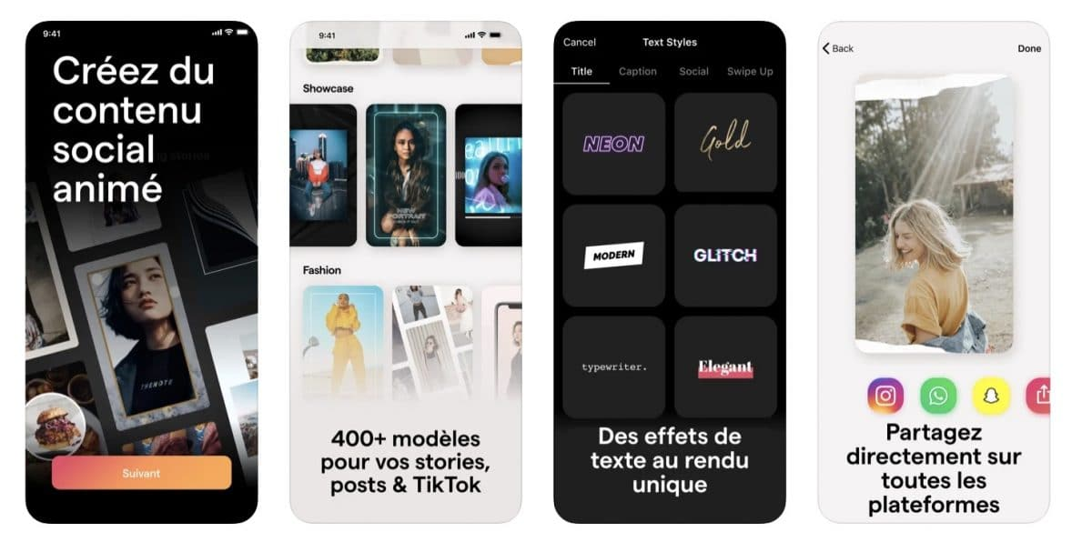 Mojo app présentation