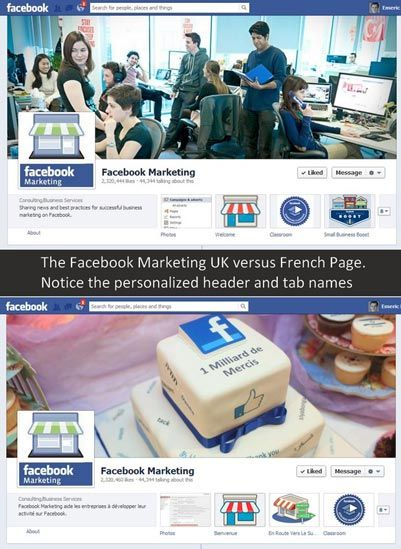 Facebook Global pages: their real cost