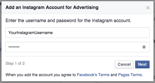 Enter your username and password to claim your Instagram account