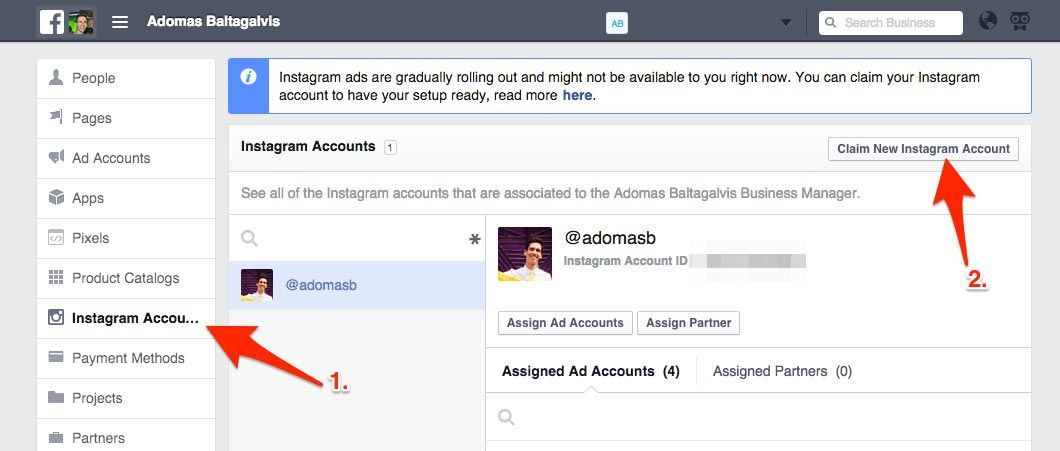 How-to-claim-a-new-Instagram-account-on-Facebook