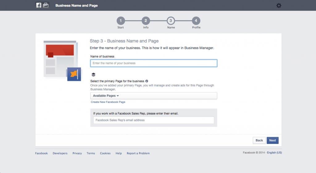 Importante: no futuro, você só poderá gerir a página principal através do Business Manager ou do Pages apps. Se isso não é algo que você gostaria, você também pode criar uma nova página de negócios do Facebook.