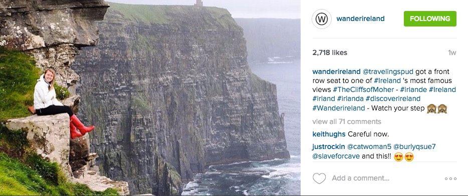 instagram landscape example