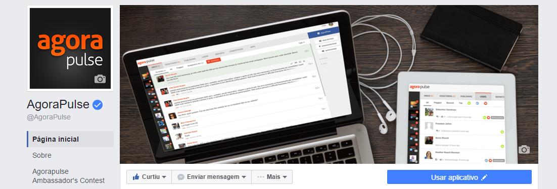 layout novo do Facebook