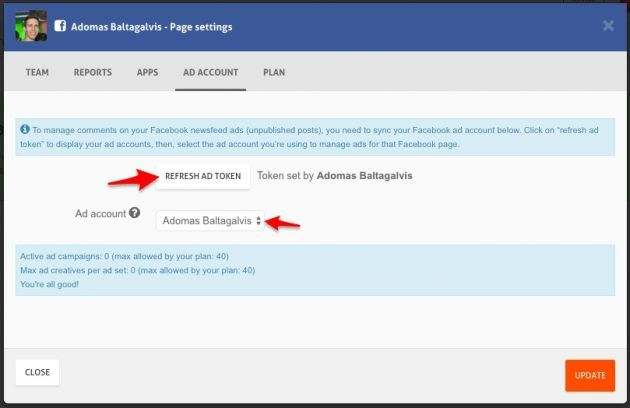 Como monitorar comentários em anúncios do Facebook com a ferramenta da AgoraPulse