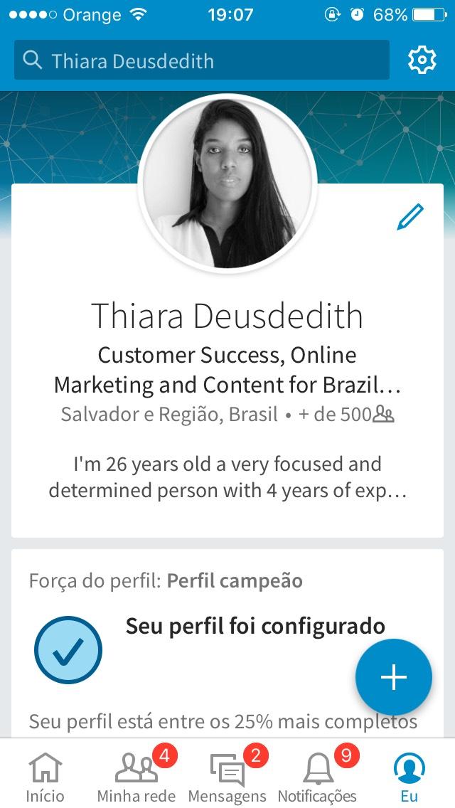 social media app LinkedIn