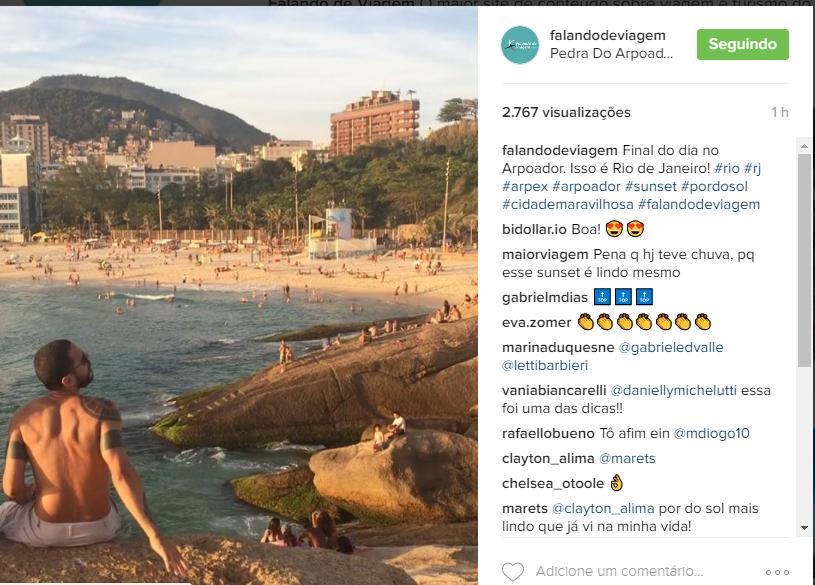hashtags para o instagram