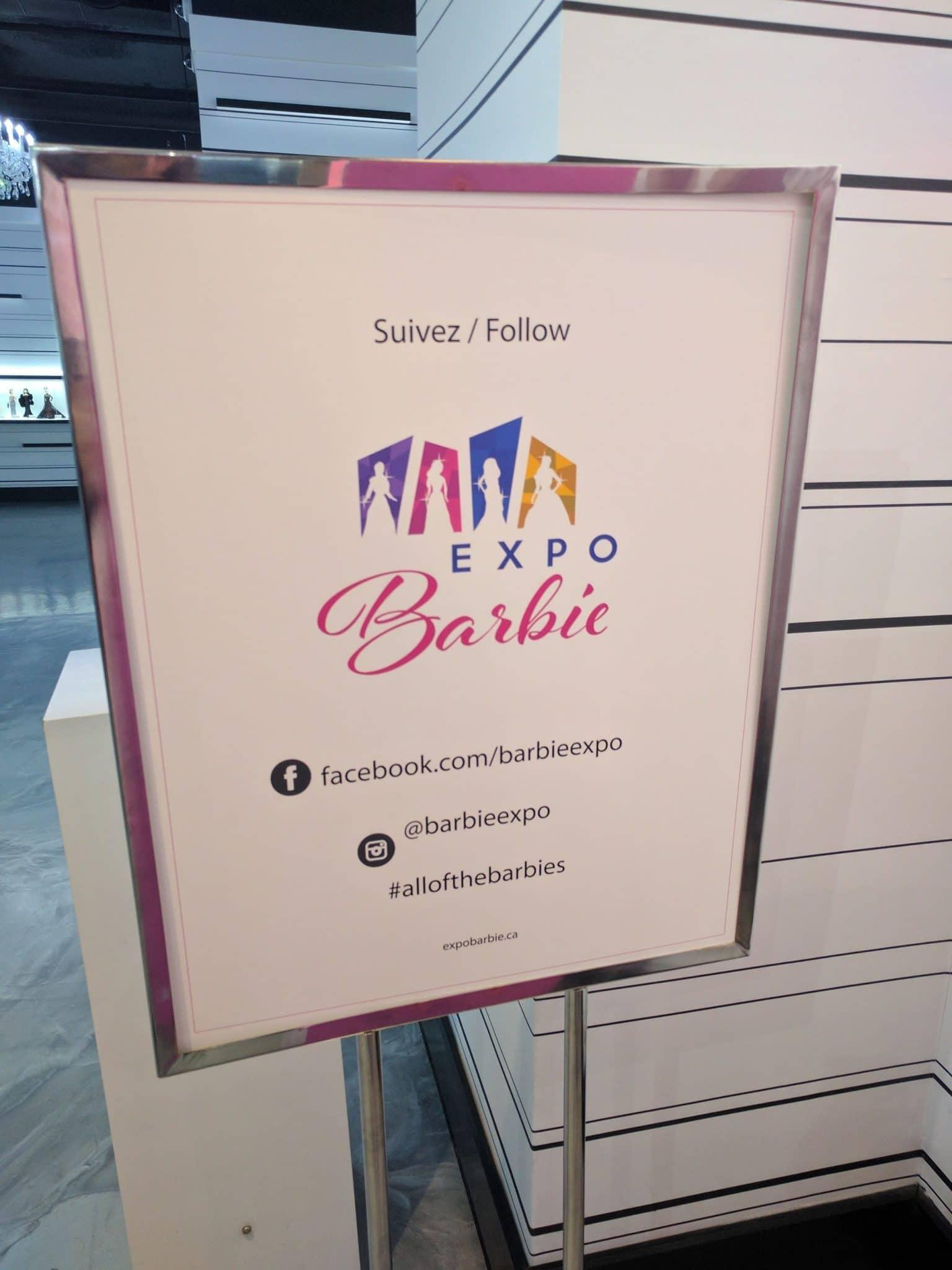 planejamento de mídia social do expo barbie