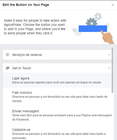Publicação do Facebook - Ligar Agora