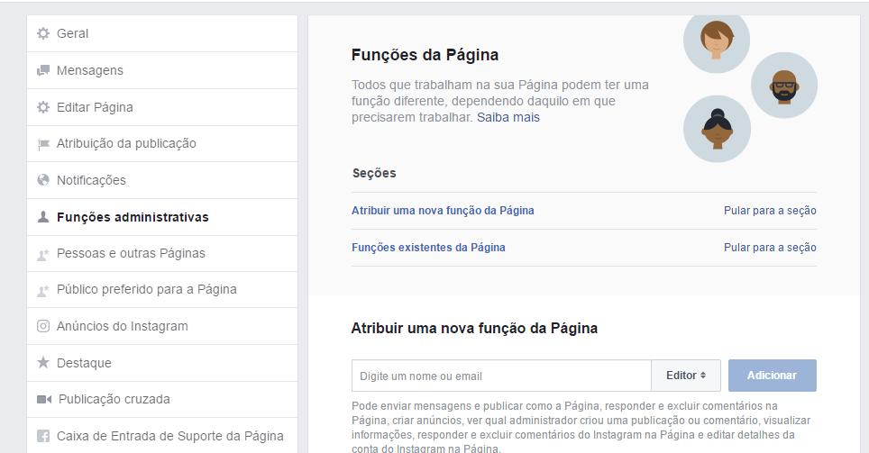 Colaborador do Facebook Live - Função