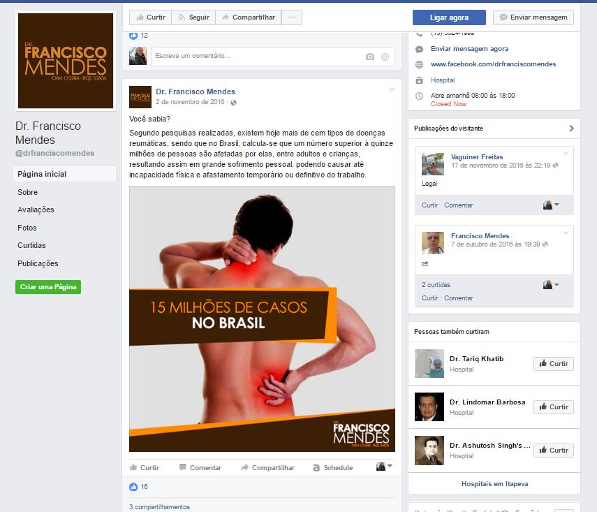 Instituto nacional transformação saudável - Dr Francisco Mendes