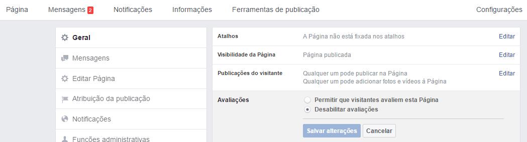 revisões negativas no Facebook 4