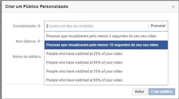 Crie um público personalizado com o engajamento de suas páginas do Facebook (4)