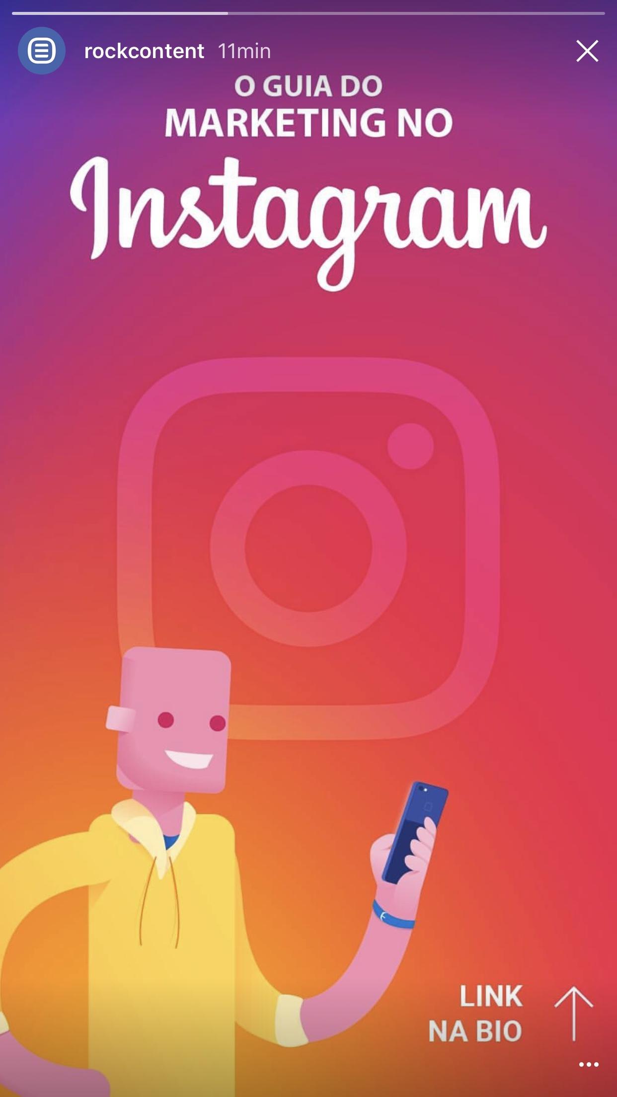 Instagram Stories e Publicações no Facebook