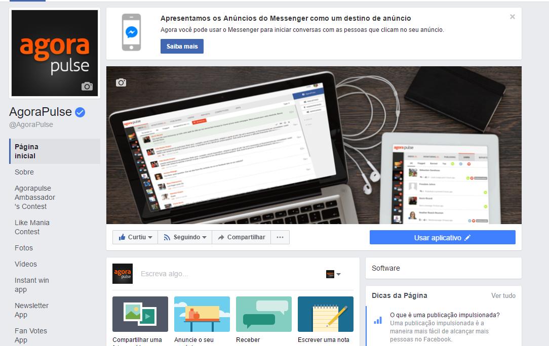 Novo Layout do Facebook