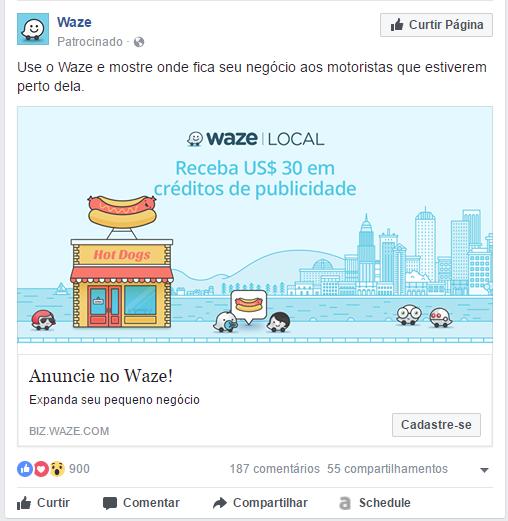 Desperdiçar anúncios do Facebook (4)