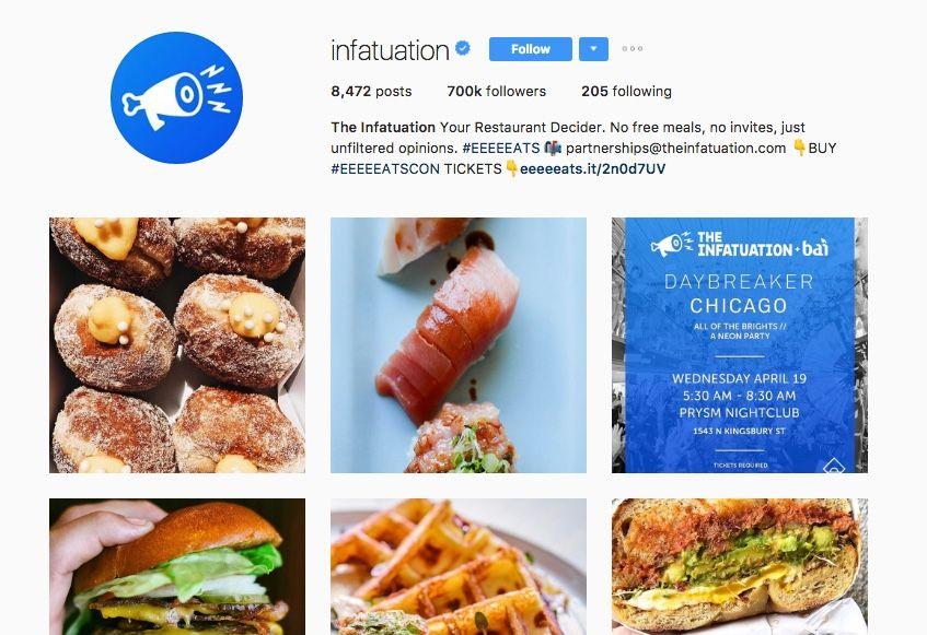brand on Instagram
