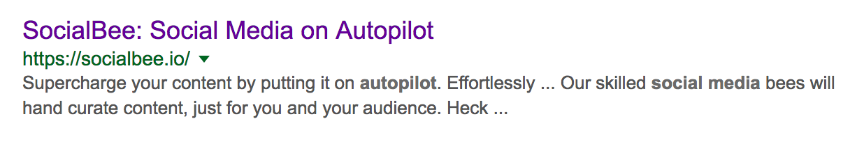 social media autopilot Google Search