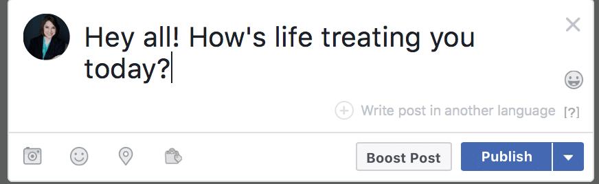Facebook translation tool