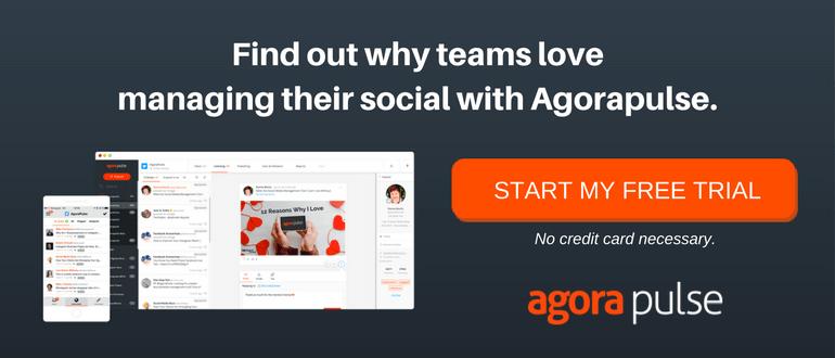 team social media management