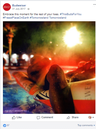 Banned products on social media: lessons from Budweiser