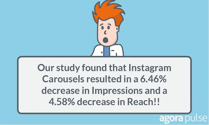Instagram Carousels Lower Reach