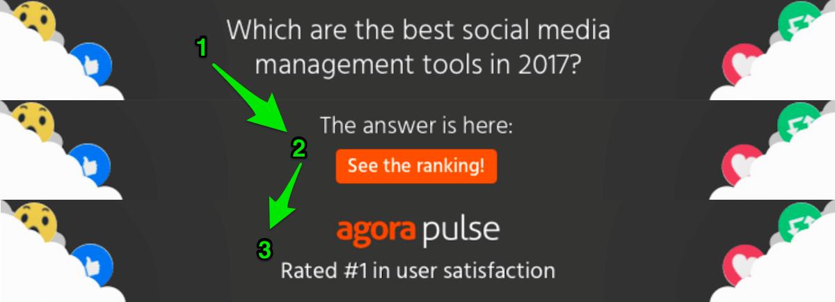 Agorapulse GDN ad example 1