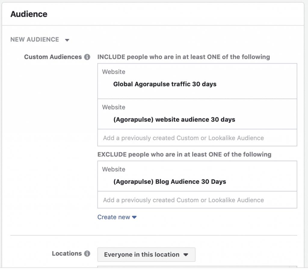 Facebook carousel versus single image audience