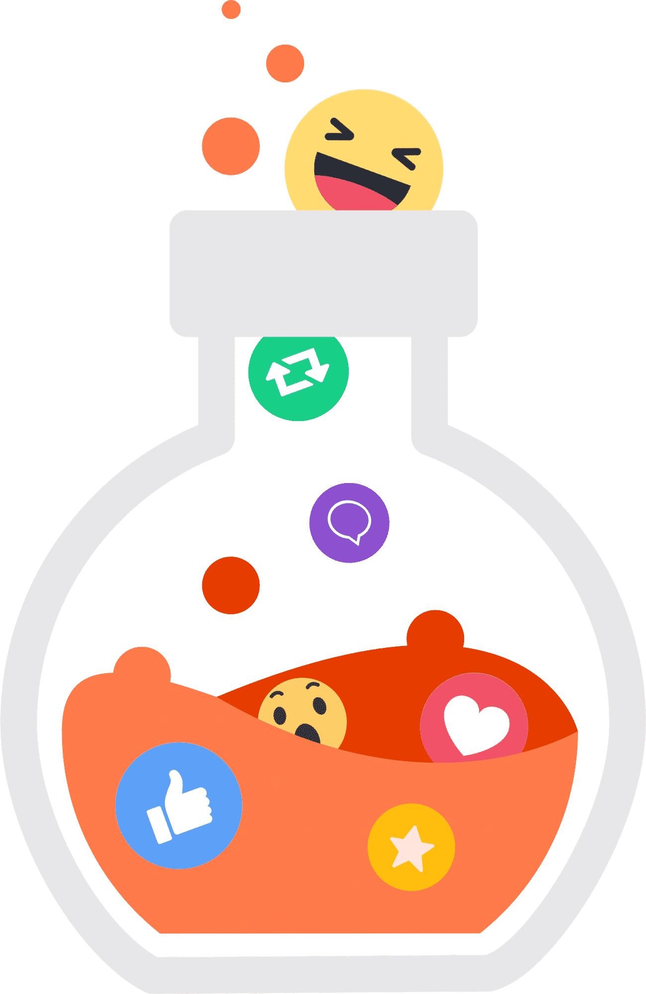 social media lab bottle