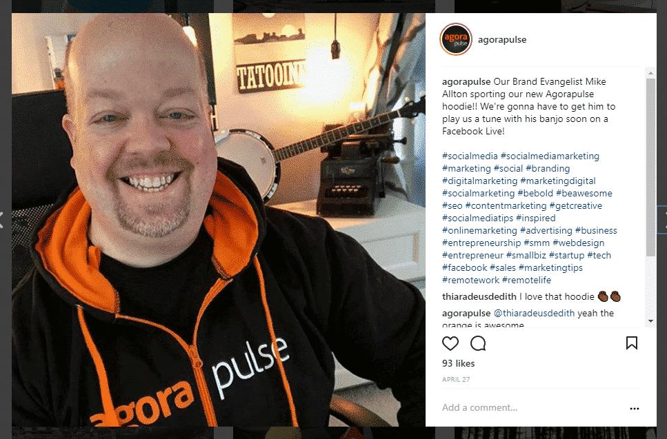 agorapulse 30 instagram hashtags