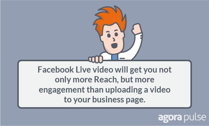facebook live video reach