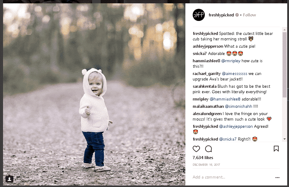 freshlypicked instagram