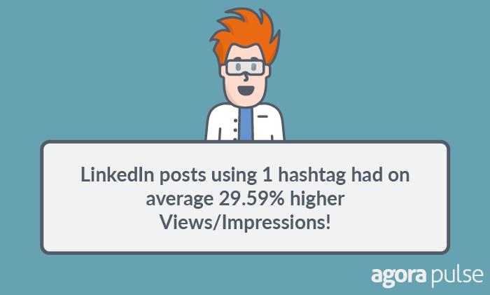 linkedin hashtag results