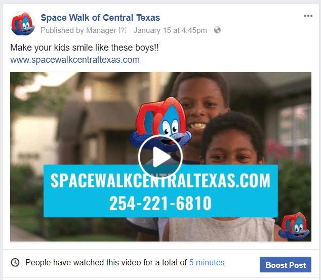 space walk facebook post