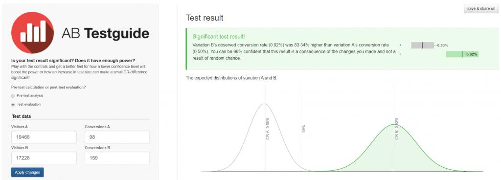 test stats