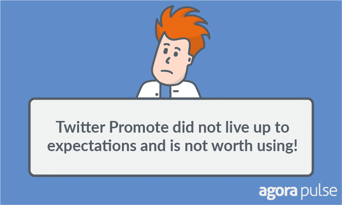 twitter promote results